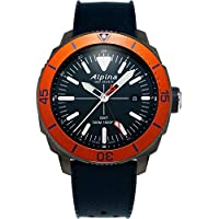 Alpina Men's Seastrong Diver Titanium/Stainless Steel Swiss Quartz Watch