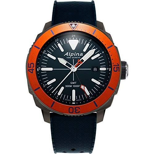 Alpina Men's Seastrong Diver Steel Swiss Quartz Diving Watch Only $387.60 (Retail $795.00)