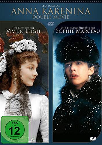 ANNA KARENINA - Double Movie (mit Vivien Leigh & Sophie Marceau)