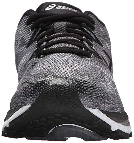 ASICS Men's Gel-Nimbus 20 Running Shoe, Carbon/Black/Silver, 9 Medium US