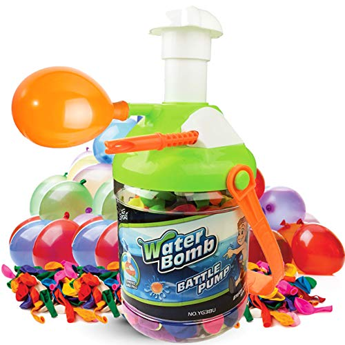 Liberty Imports 2-in-1 Fill and Tie Water Balloon Portable Pumping