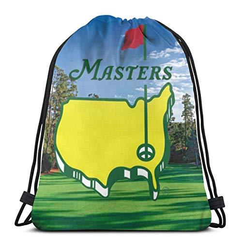 Sac à dos HFXY Drawstring Masters léger classique personnalisé sac à dos personnalisé