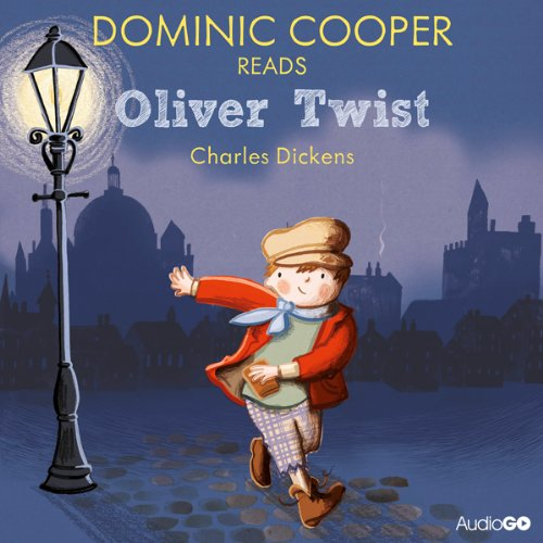 Dominic Cooper Reads Oliver Twist (Famous Fiction) audiobook cover art