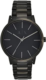 Armani Exchange Men's Stainless Steel Three Hand Dress Watch