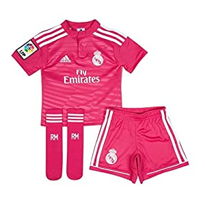 Conjunto para Niñas Real Madrid Camiseta/Pantalón Rosa ...