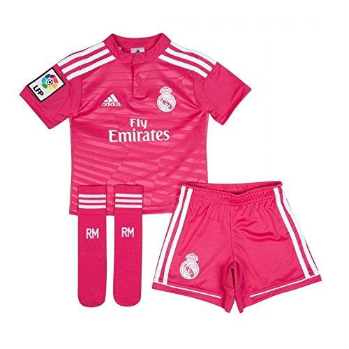 Adidas Real Madrid Minikit 2014/15 PINK (14 años)