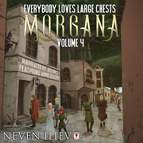 Morgana audiobook cover art