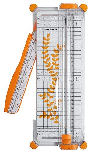 Fiskars SureCut, Papier- Schneidemaschine A4, ca. L 38 x B 15 cm