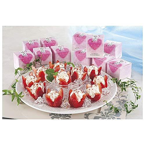 ( 産地直送 冷凍 ) 花いちごのアイス