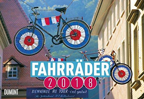 Fahrräder 2018 - Broschürenkalender - Wandkalender - mit Schulferienterminen - Format 42 x 29 cm