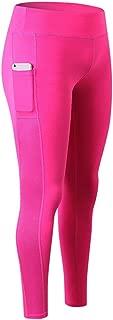 Women's Yoga High-Waist with Hidden Pocket Workout Running Tummy Control Sports Leggings Trouser Pants