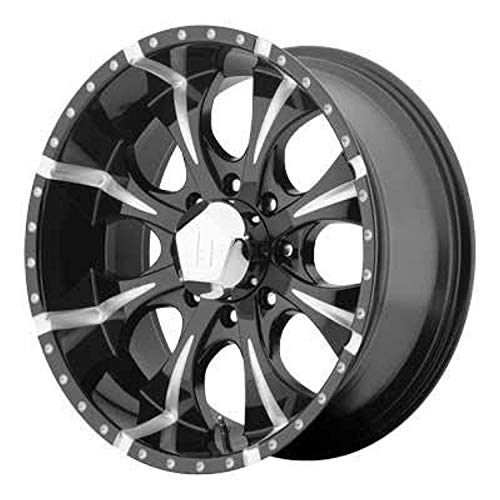 Helo HE791 Maxx Gloss Black Wheel With Milled Accents (17x9'/5x127mm, -12mm offset)