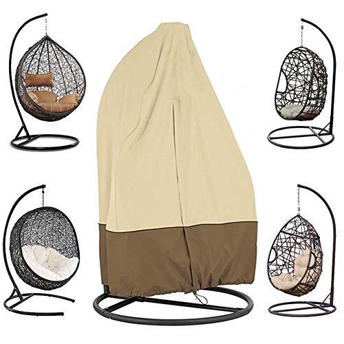 Funda para sillón Colgante, diseño de Cremallera, Impermeable, Resistente al Viento, Cesta...