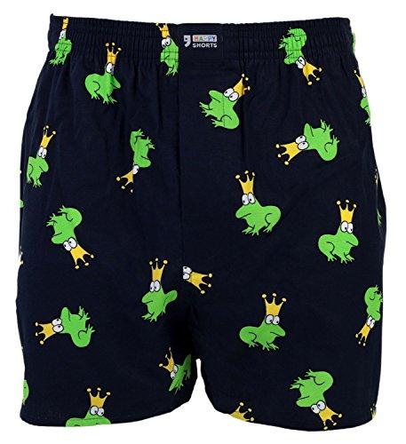 Happy Shorts Webboxer Herren Boxer Motiv Boxershorts Farbwahl, Grösse:XL - 7-54, Präzise Farbe:Design 1