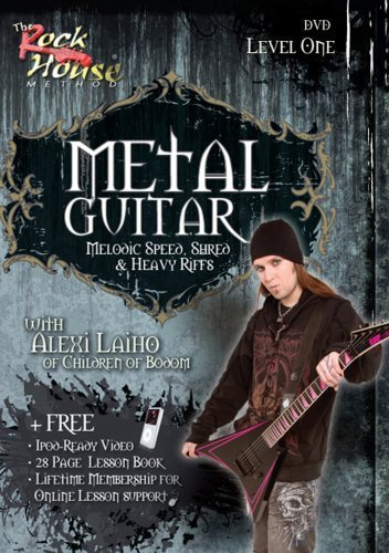 Alexi Laiho of Children of Bodom, Melodic Speed, Shred & Heavy Riffs...