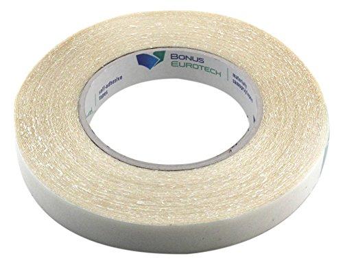 BONUS Eurotech 2BR18.31.0019/025A# Doppelseitigklebriges Transferband, Breite 19 mm, Länge 50 m, Acrylklebstoff, Gesamtdicke 0,31 mm