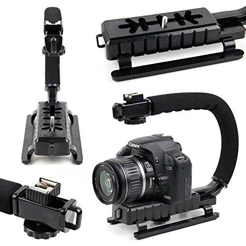 DURAGADGET Estabilizador de Imagen de Mano para Cámara Light L16 | Lenovo Mirage Camera | Blackmagic Pocket Cinema Camera 4K