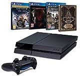 Contenu : Pack PS4 500 Go C Noire + Destiny : Le Roi Des Corrompus Assassin's Creed : Syndicate + Steelbook exclusif Amazon Metal Gear Solid V : The Phantom Pain