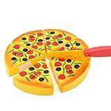 Homeofying Niño de la Cocina de Simulación de Pizza Fiesta de Comida Rápida Rebanadas de Cortar Juego de Alimentos de Juguete de Pretender Juego de Roles de Juguete Para Niños