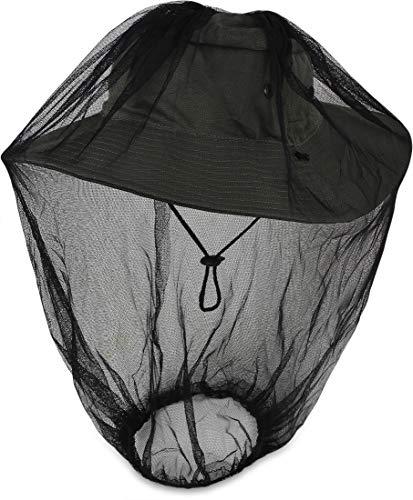 Storfisk fishing & more Outdoor - Gorro de Pesca con Orificios de ventilación y mosquitera integrada en el cabecero