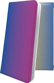 ZenFone4 Max ZC520KL ケース 手帳型 グラデーション シンプル ゼンフォン4 ゼンフォーン4 セルフィー 手帳型ケース 無地 zenfone 4 カラフル
