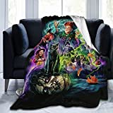 Hocus Pocus Fleece Blanket Ultra-Soft Micro Blankets for Couch Bed Or travl Soft and Warm Throw Blanket (80