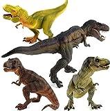 4 Unids / Set Dinosaurio Jurásico Juguete Pentasaurus Cryolophosaurus Parasaurus Brachiosaurus Spinosaurus Pterodactyl Simulación Regalo para Niños 16-23Cm