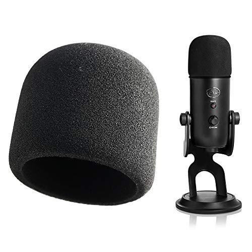 Black Mic Foam Cover As a Pop Filter YOUSHARES MXL 770 990 Microphone Foam Windscreen