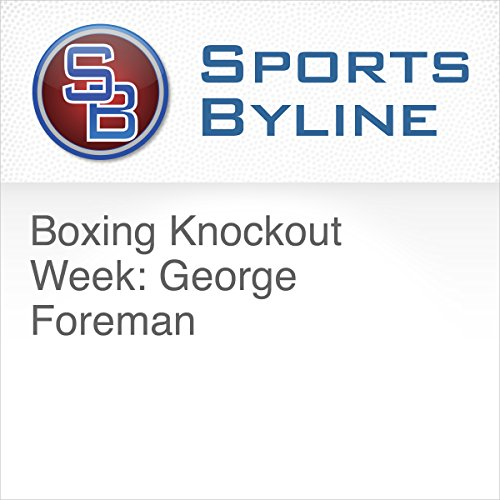 Boxing Knockout Week: George Foreman audiobook cover art