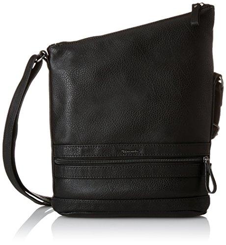 Tamaris Damen SMIRNE Crossbody Bag Umhängetaschen, Schwarz (Black 001), 22x30x7 cm