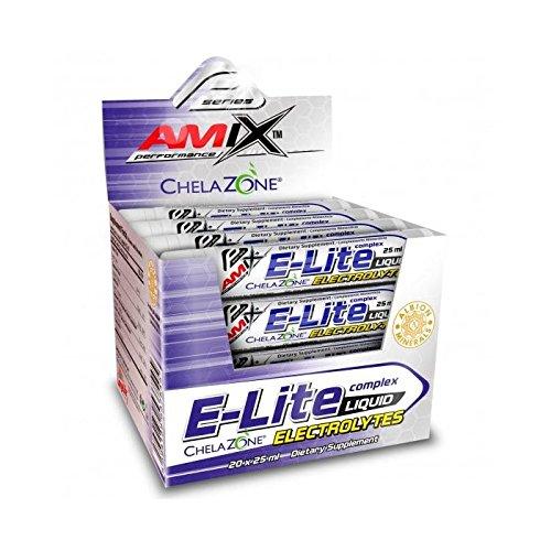 Amix E-Lite Electrolytes Liquid 20*25 Ml Arandanos 500 ml