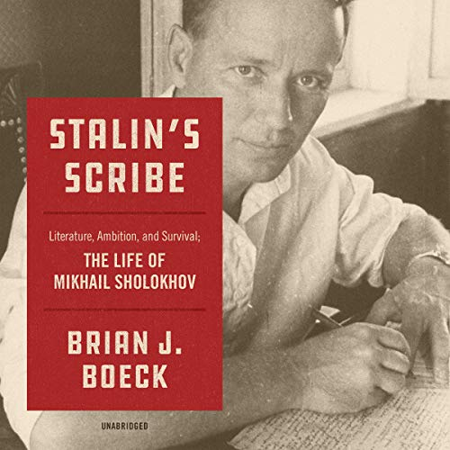 Stalin's Scribe audiobook cover art