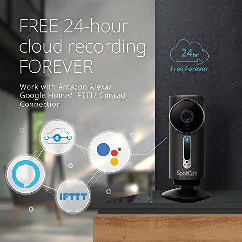 SpotCam 1080P Full-HD IP-Kamera / WLAN-Überwachungskamera Outdoor mit Smart Home Integration - 7