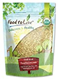 Granos de Trigo sarraceno orgánico, 8 Onzas - sin cáscara, sin OGM, Kosher, crudo, vegano, a granel