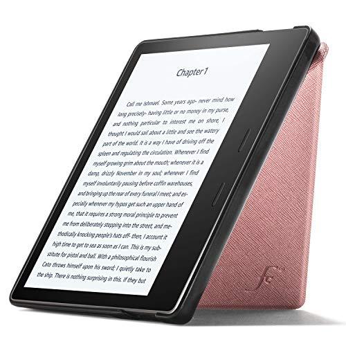 Forefront Cases Funda para Kindle Oasis 2019 - Estuche y Soporte Protectora con Cierre Magnético para Amazon Kindle Oasis 2019 (10.ª generación) - Ultra Delgado Ligero - Oro Rosa