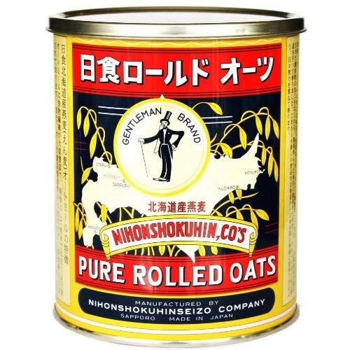 日本食品製造 日食 ロールドオーツ 北海道産燕麦使用 350g