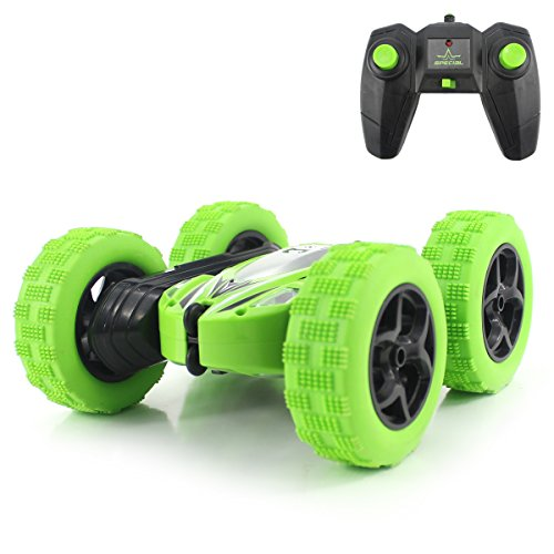 Fisca RC Car Remote Control Stunt Car, 4WD Monster Truck Double Sided...