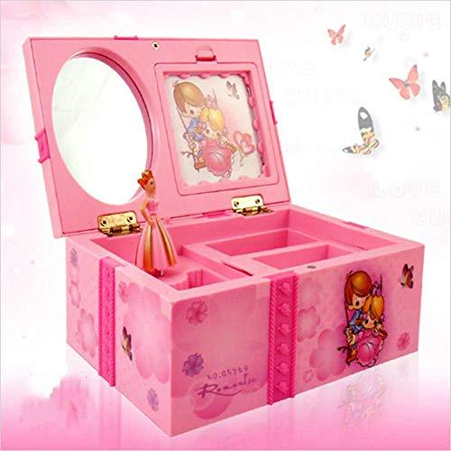 OOPP Dream Girl - Caja de música para niños, diseño de bailarina de Alicia en el país de las maravillas