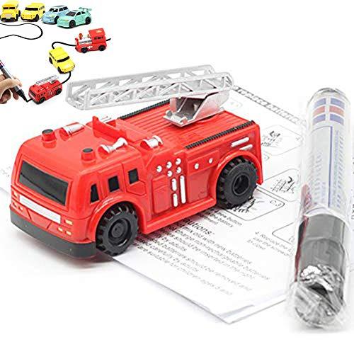 Daxoon Gezeichneten Linie Spielzeug Induktive Auto Spielzeug Für Kinder Geburtstags