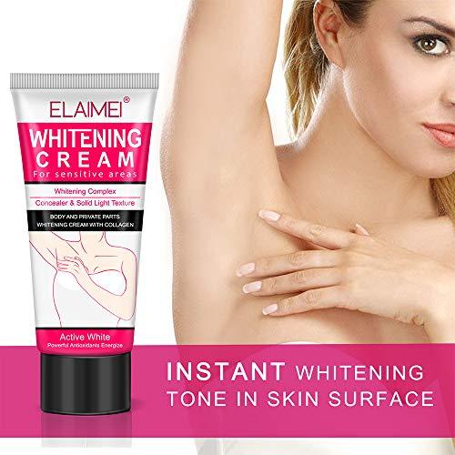 Underarm Whitening Cream, Moisturizing Body Cream, Lightening cream for...