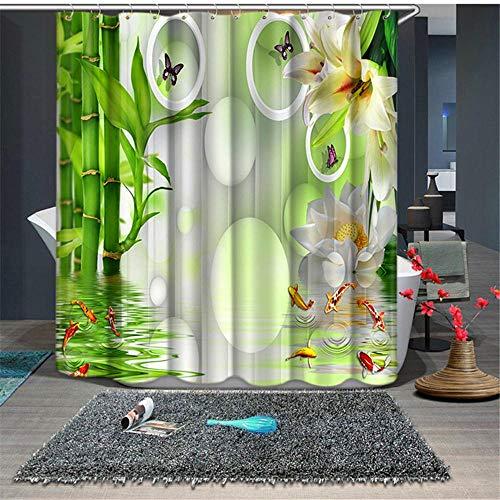 cortinas translucidas verdes