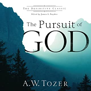 The Pursuit of God Titelbild