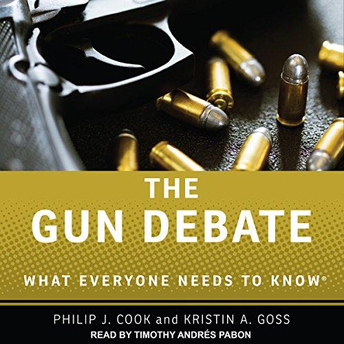 The Gun Debate audiobook cover art