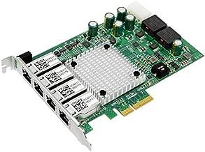 Jeirdus NIC Gigabit - for Intel I350AM4 Chip Quad RJ45 PoE Ethernet Server Converged Network Adapter I350-T4, PCI Express 2.1 x4, Power Over Ethernet, Interface Card