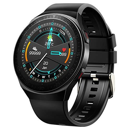 XYZK MT3 Smart Watch Men's 8G Memory Music Bluetooth Call Smartwatch Pantalla Táctil Completa Pulsera De Grabación para iOS Android,A