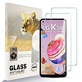 Asoway Bildschirmschutzfolie Panzerglas für LG K51S [2er Pack] HD-Hartglasfolie Anti-Fingerabdruck Blasenfrei Leicht zu Installieren, 9H Festigkeit Glasschutzfolie Schutzfolie fürLG K51S