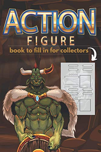 Action figure: Book to fill in for colletors, gift for high fantasy board player