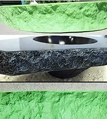 """CONCRETE COUNTERTOP EDGE FORM LINERS - Rugged Fracture Edge, 2, 1/4"""""""" wide x 6' long"""