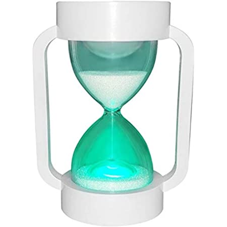 SuLiao Hourglass Sand Clock Timers 5//10//15//30//45//60 minute Sand Timer for Kids Teachers Games Classroom 5 Min