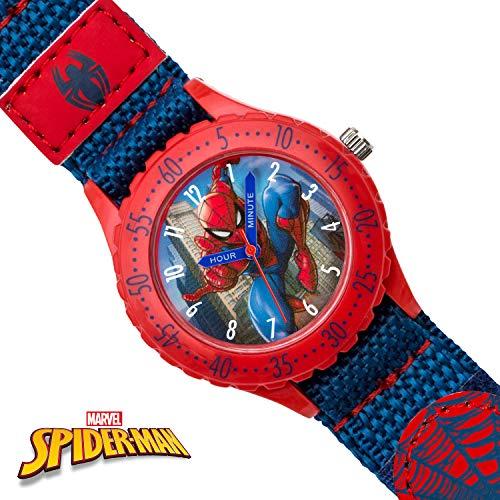 Spiderman Orologio Analogico Quarzo per Bambini con Cinturino in Gomma SPD3495